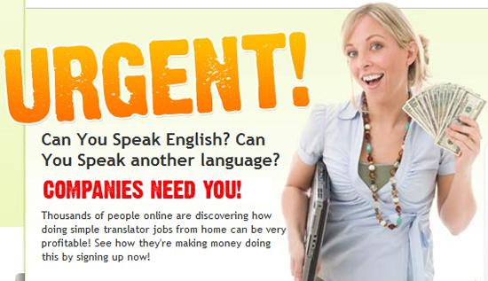 Peluang kerja sebagai translator atau penterjemah