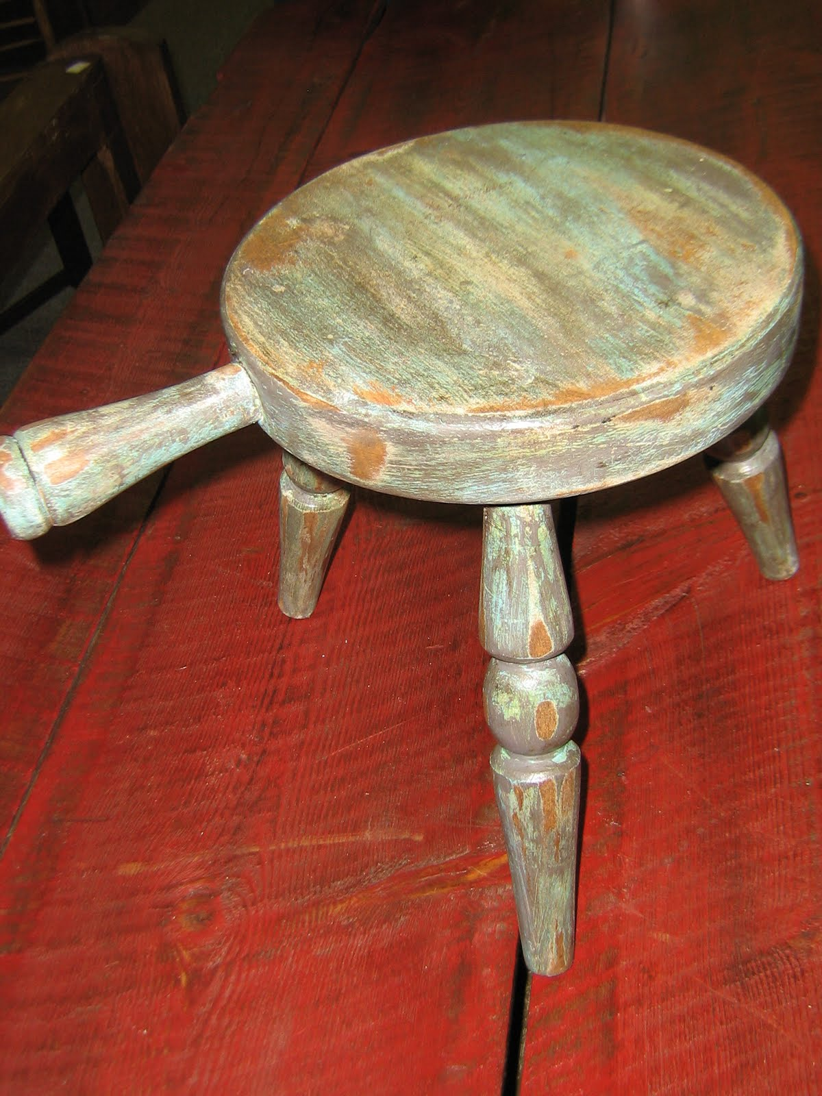 Myantiquebarn Milk Stool Before And After