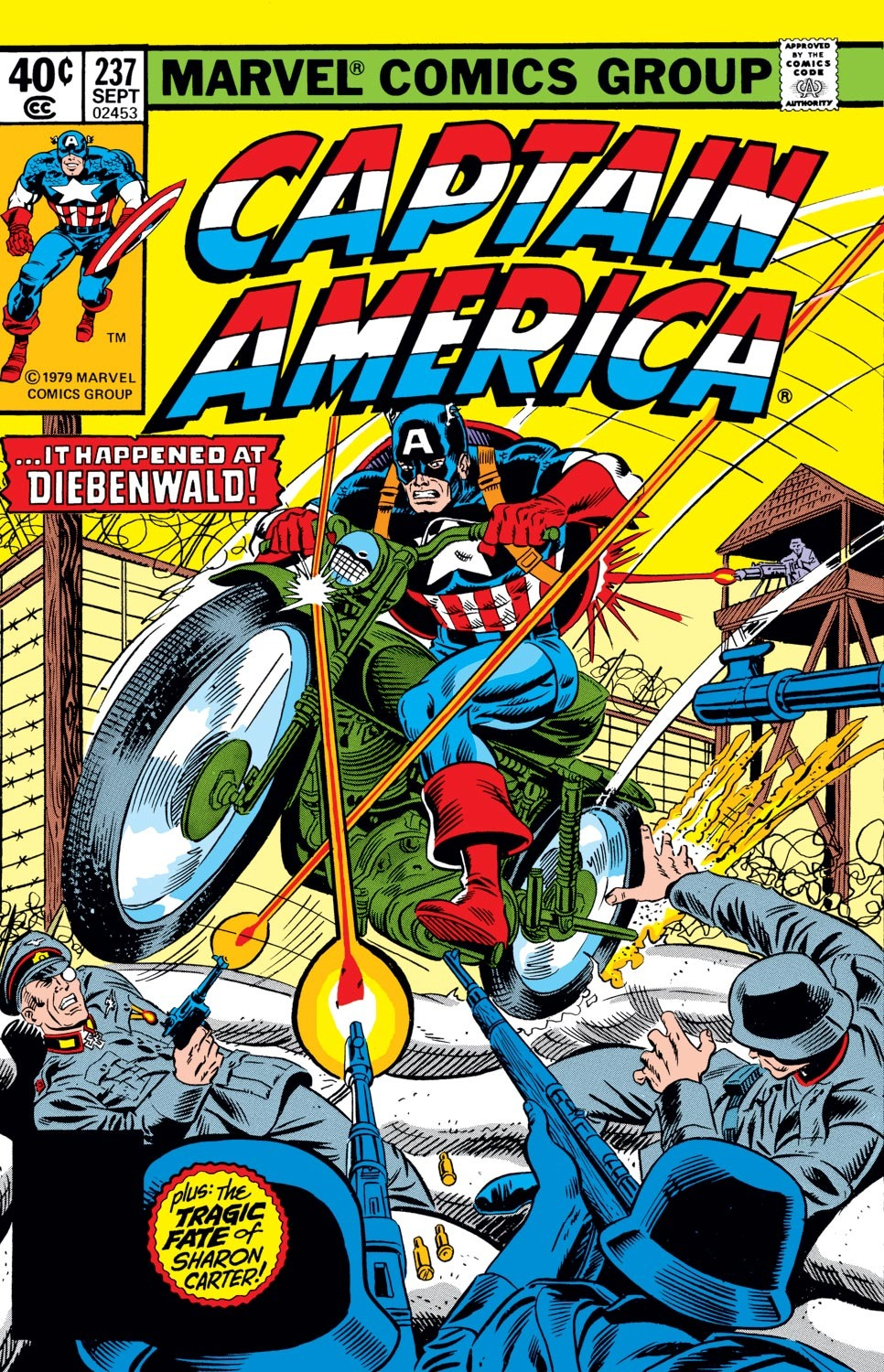 Captain America (1968) Issue #237 #152 - English 1