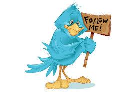Insert follow on twitter button on blogger