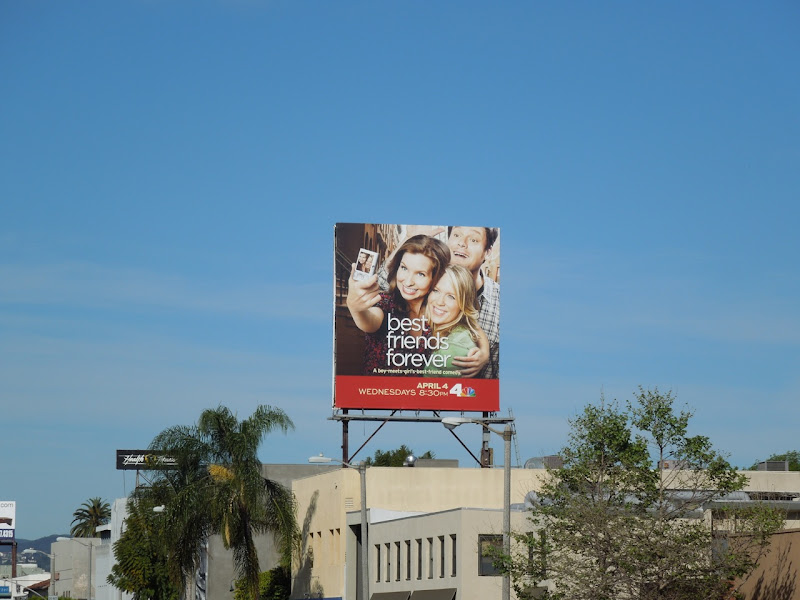 Best Friends Forever billboard