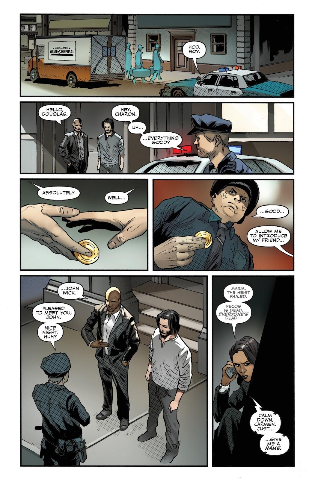 John Wick 1 Read John Wick Issue 1 Online Full Page