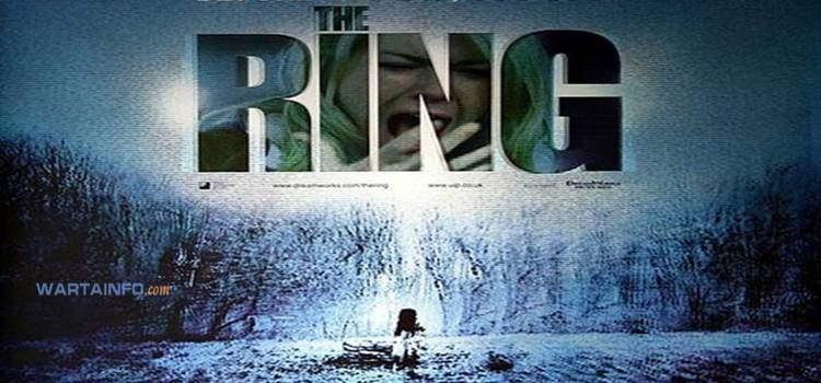poster The Ring (2002) Film Horor terseram terbaik paling menegangkan