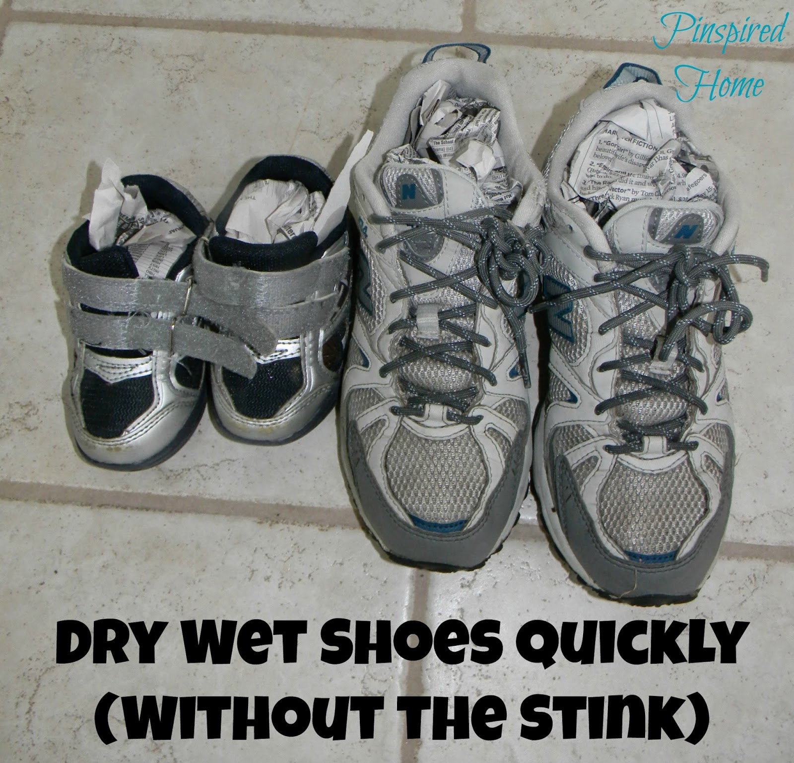 http://pinspiredhome.blogspot.com/2014/05/dry-shoes-quickly-without-getting-too.html