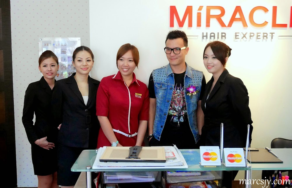 Miracle Hair Expert Official Launch 8th Anniversary & Top 10 finalist TVC Contest