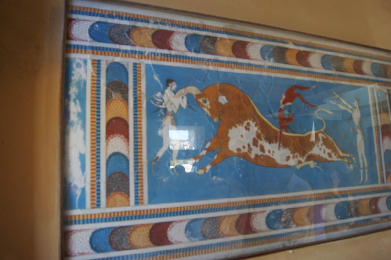 схема лабиринта дедаля на острове крит