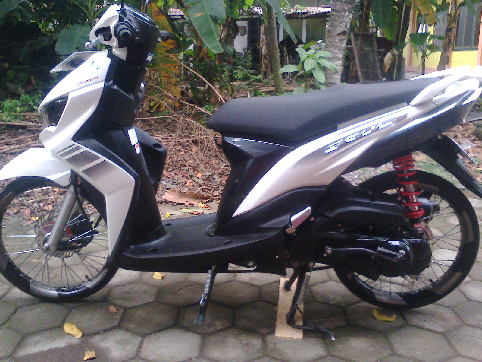 Top modifikasi mio gt velg 14