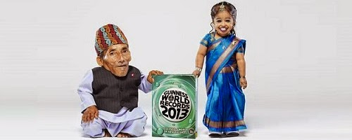 World's shortest man and woman meet for first time