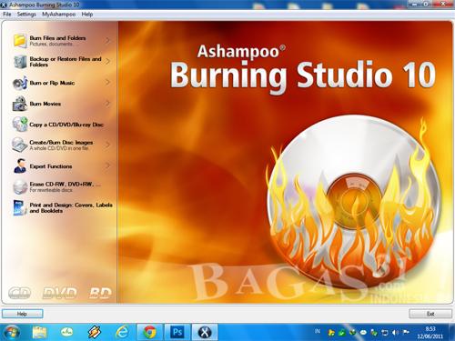Ashampoo Burning Studio 10 + Crack 2