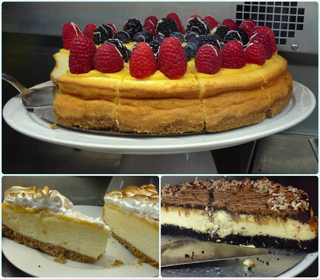 Bea's of Bloomsbury, London - Cheesecake
