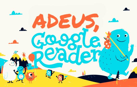 adeus google reader - cadastro na newsletter