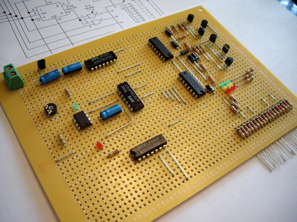 Tys Model Railroad Traffic Lights Part Ii Signal Head Wiring Diagram Light Controller Circuit