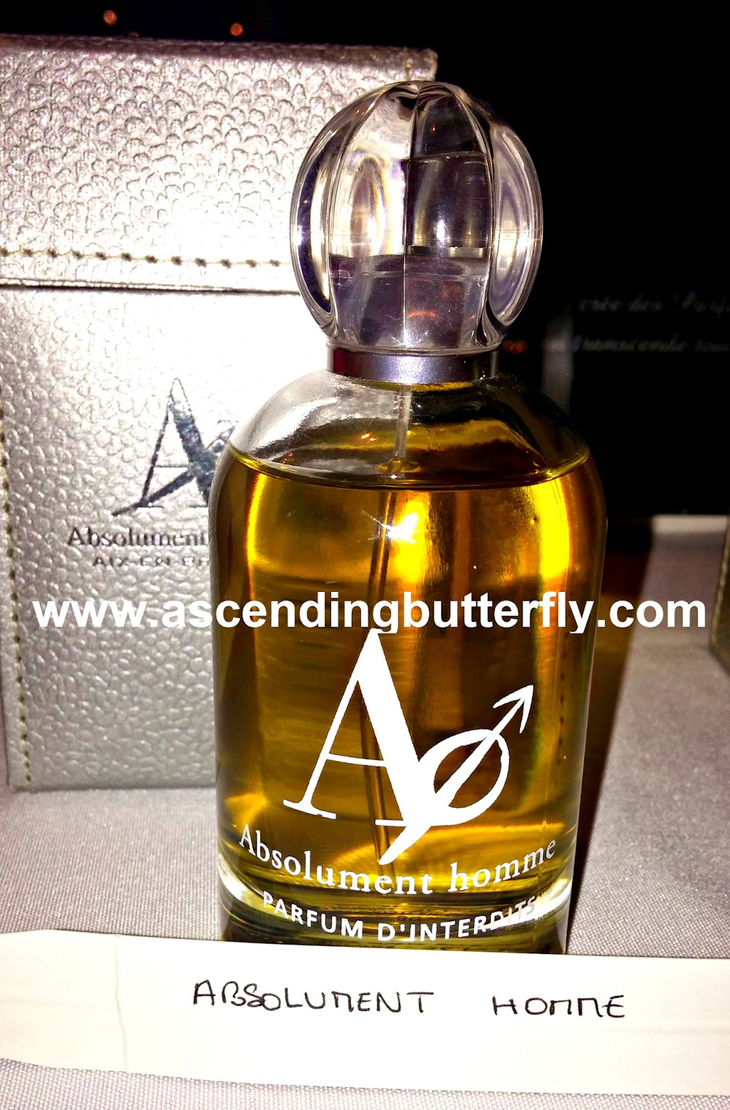 Absolutment Parfumeur, Absolument Homme, Men's Cologne