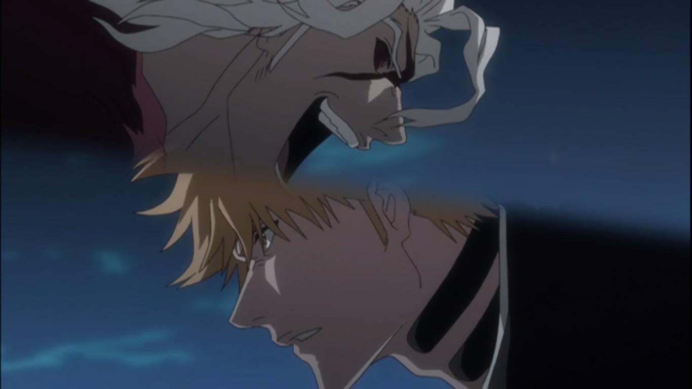 "Judul "" Ichigo vs Ginjo ! Rahasia dari Lencana Pengganti """