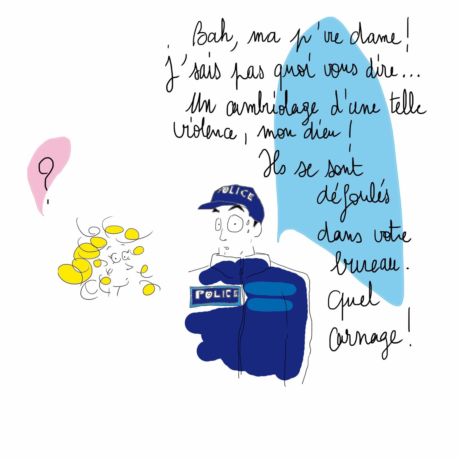 dessin La Vie selon L. Lucie Paris Legret