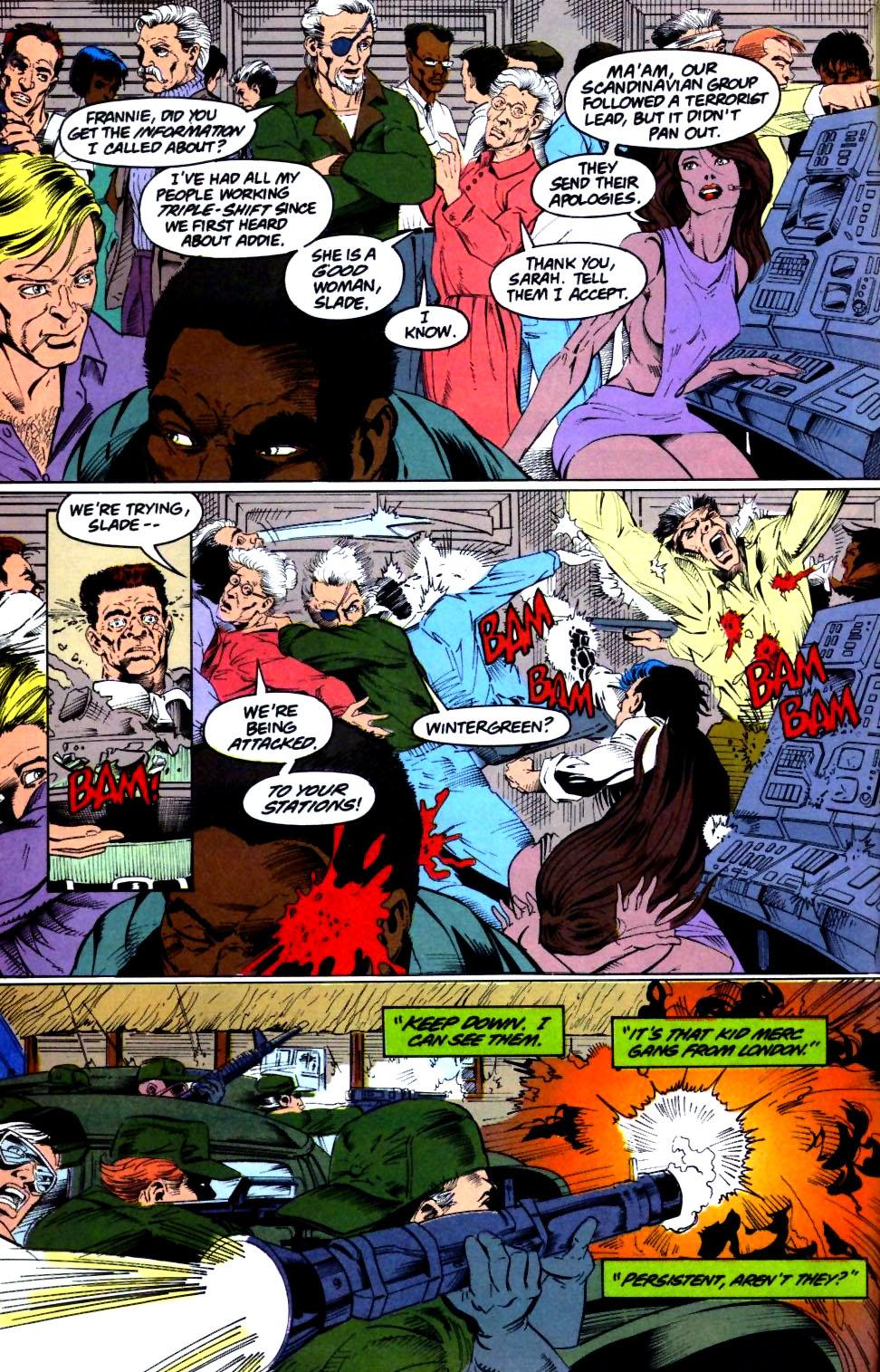 Deathstroke (1991) Issue #28 #33 - English 5