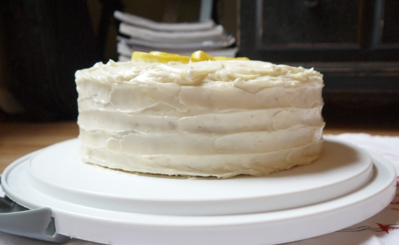 ... Through Life: Lemon Layer Cake with Lemon Cream Cheese Frosting