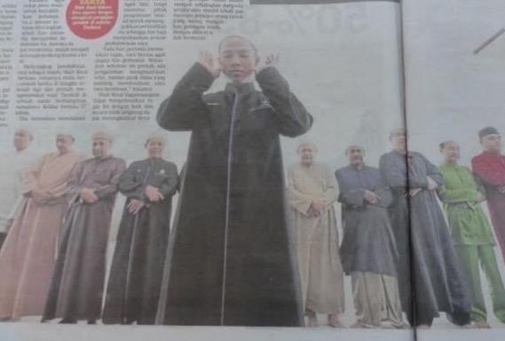 Lelaki sanggup lepaskan gaji RM10,000 demi menjadi imam