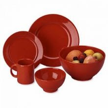 waechtersbach cherry red dinnerware