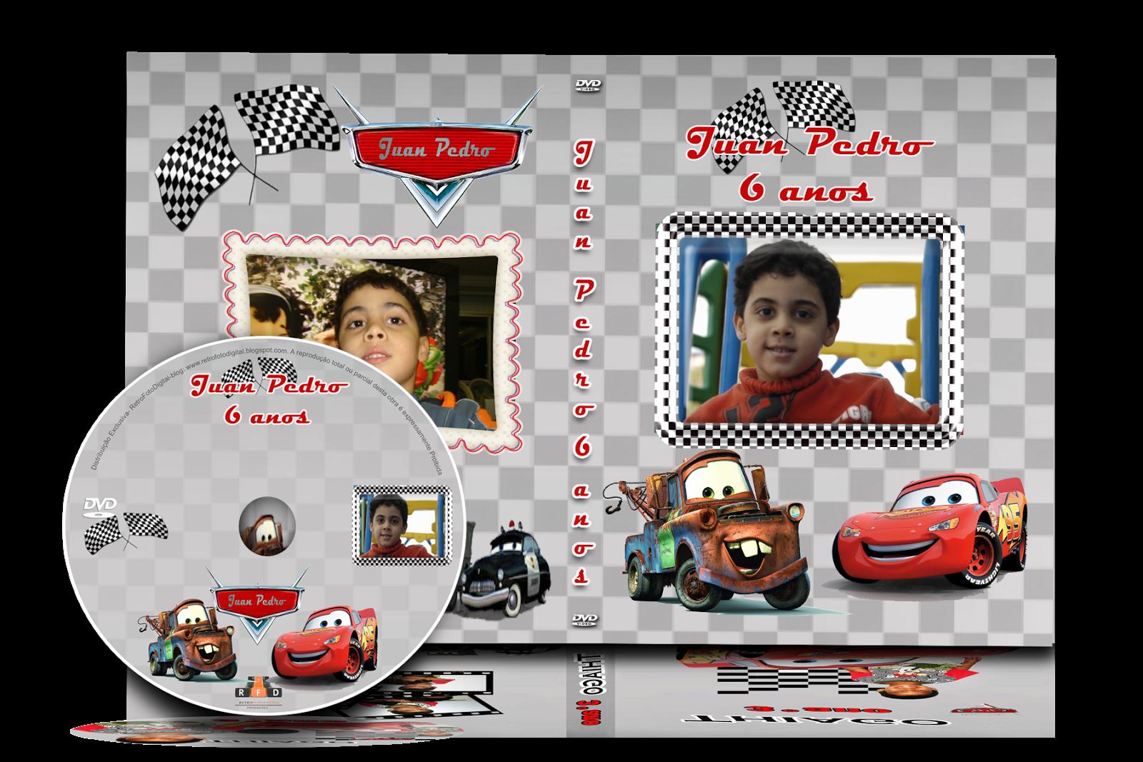 Capa de DVD - Tema Carros