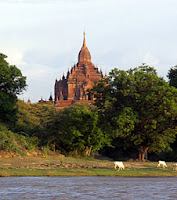 Bagan Myanmar and the Ayeyarwady