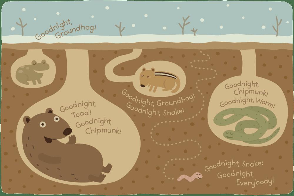 Clipart Of Hibernating Animals