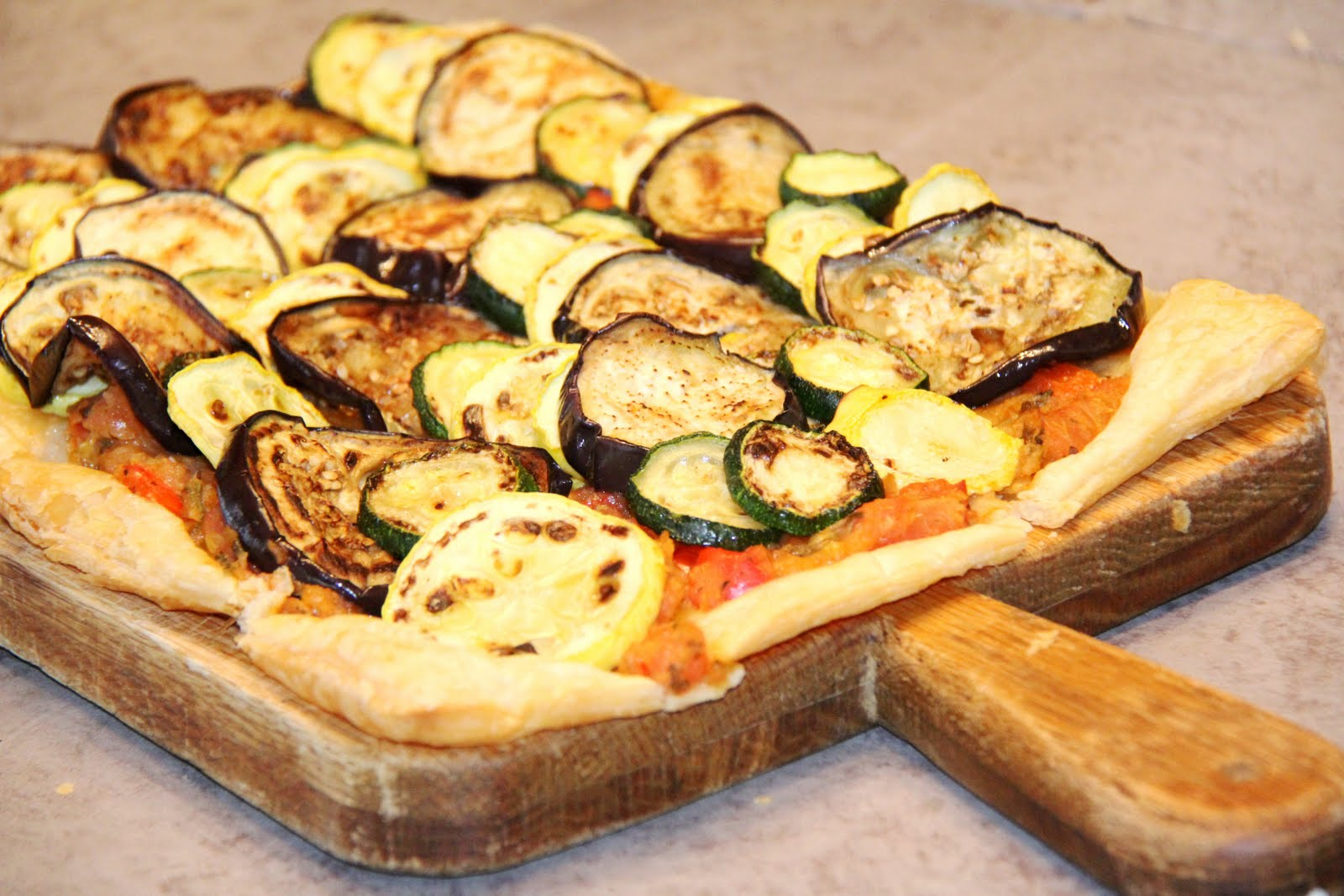 in Cleveland: Ratatouille Tart | Recipe | Summer Vegetable Tart