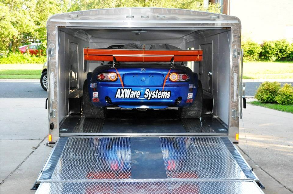 What Is The Average Size Of A Rear Door On An Enclosed Car Hauler
