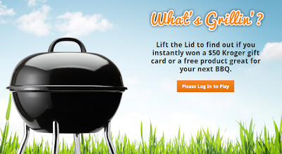 whats grillin kroger instant win game