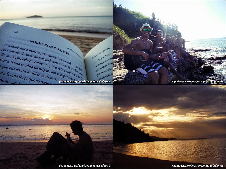 gambeteando con la de palo - Playas de Buzios - Tartaruga, Azedinha.