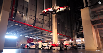 Video: Το μυστικό γκαράζ των αγωνιστικών μοντέλων της Toyota