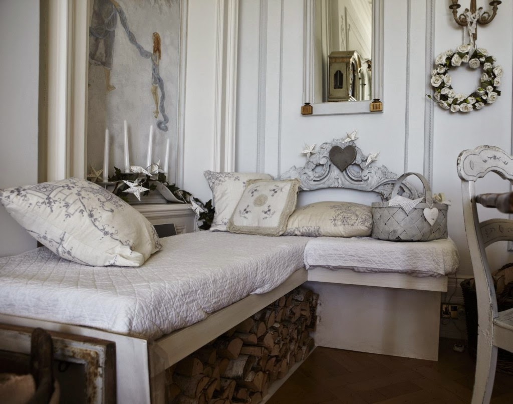 comment cr er un style cottage chic d cor de maison d coration chambre. Black Bedroom Furniture Sets. Home Design Ideas