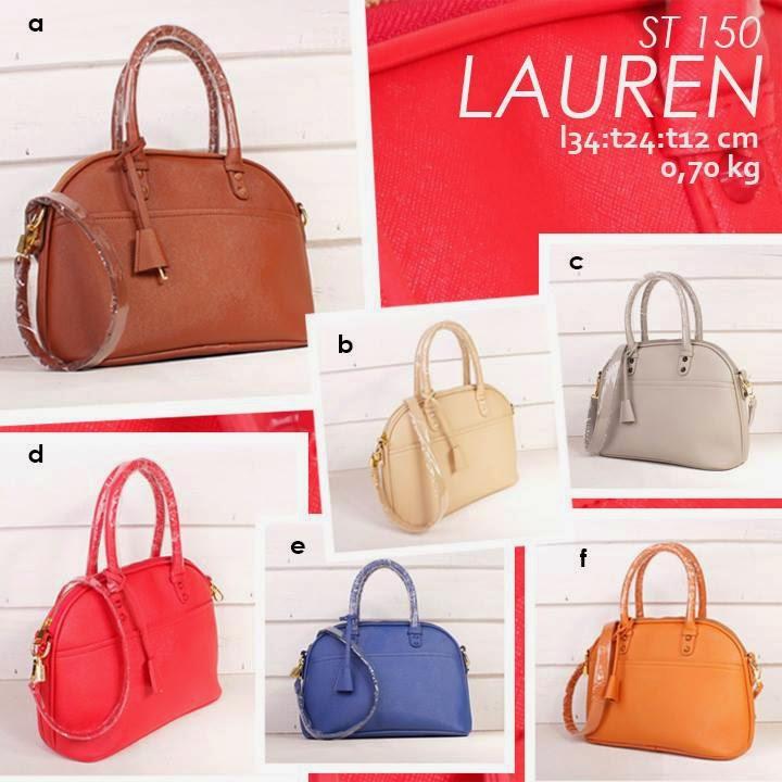 jual online Handbag Cantik Model Simple Aneka Warna