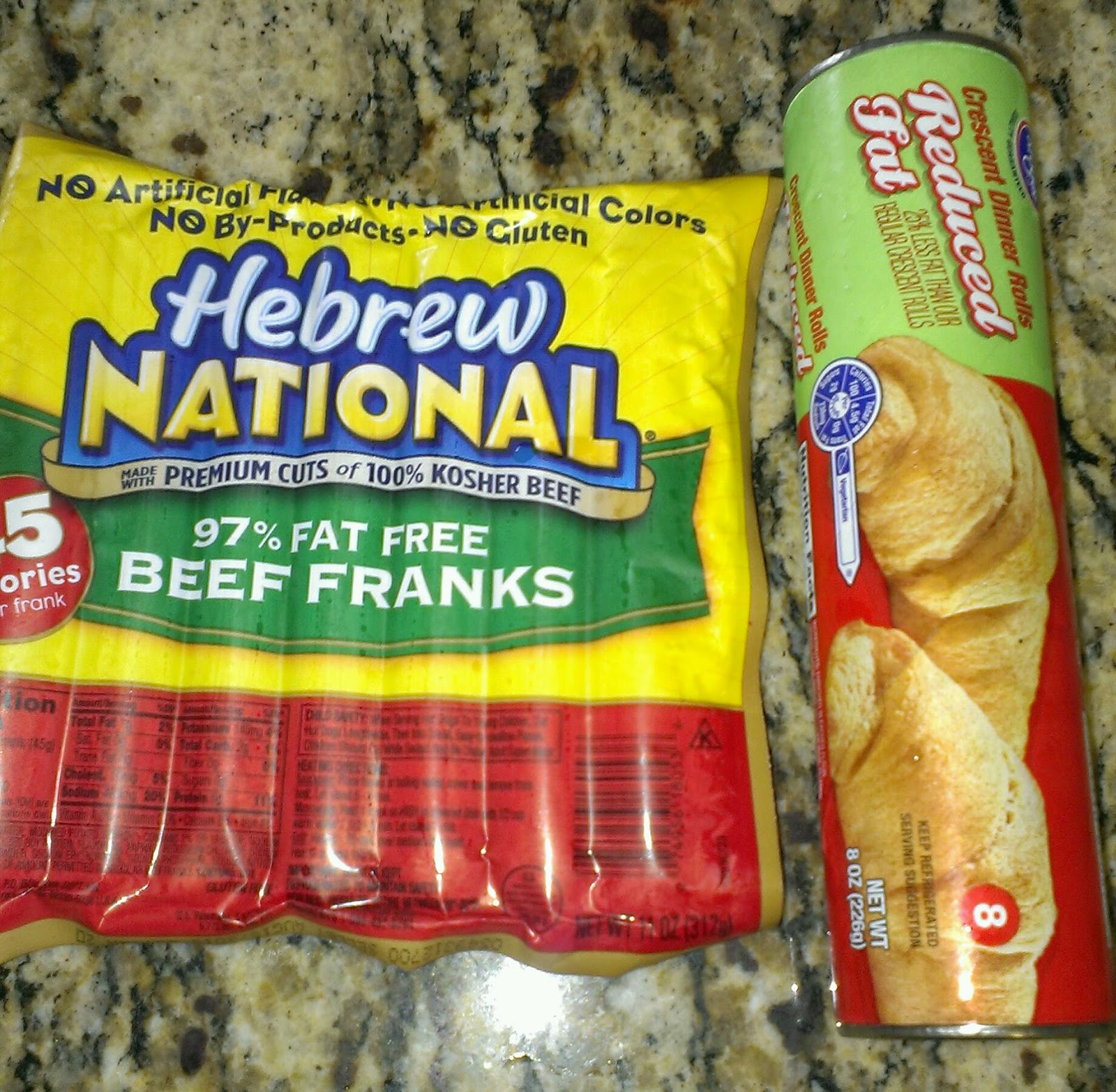 Hebrew National Hot Dogs Grams Fat