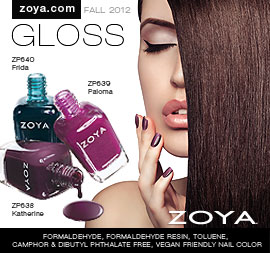 Zoya Nail Polish: NYFW2012 Gloss
