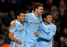 HASIL SKOR VIDEO MANCHESTER CITY VS BLACKBURN 3-0 YOUTUBE