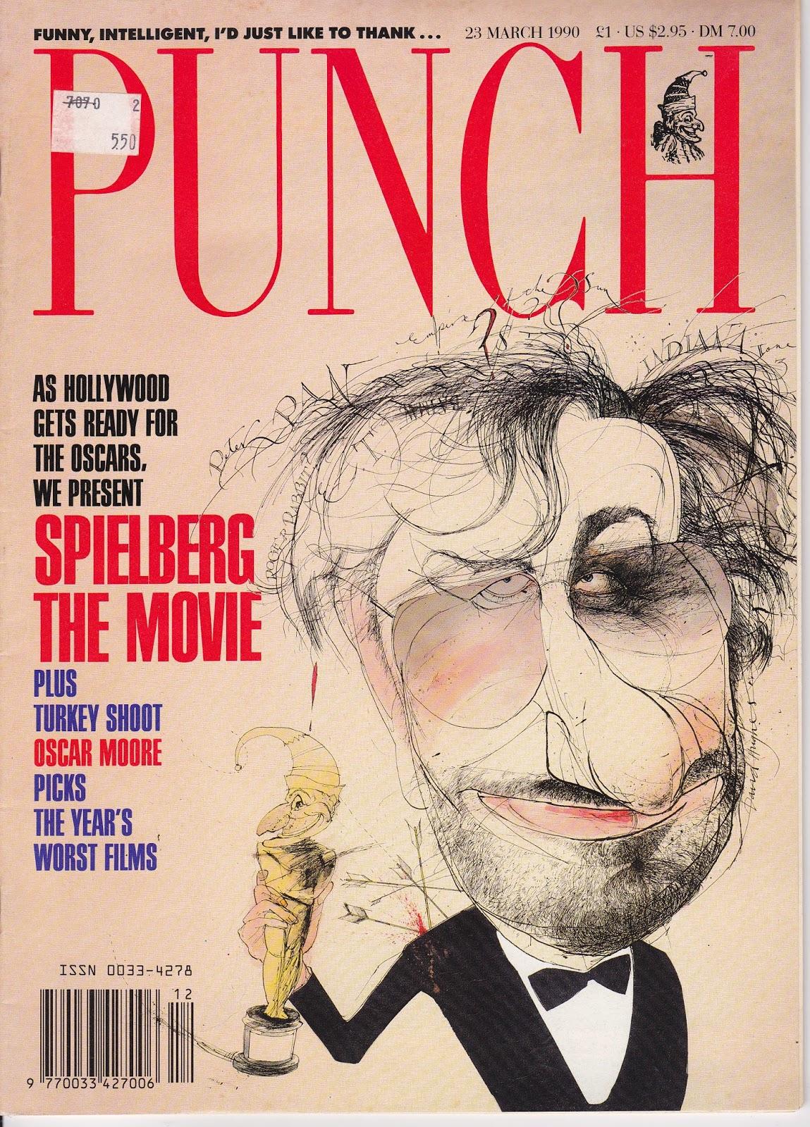 punch magazine spielberg