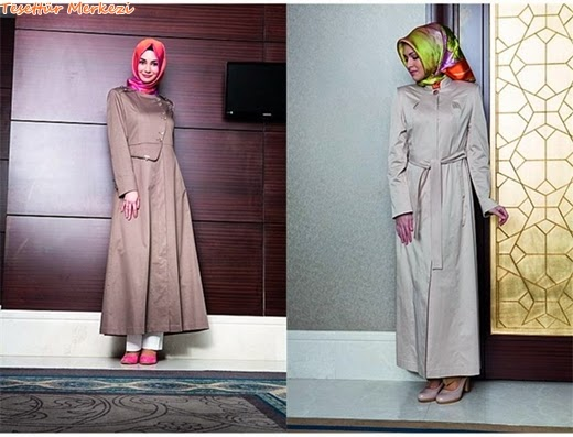 Tekbir Giyim 2014 Yazlık Pardesü Modelleri