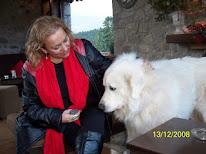 Νότα Κυμοθόη με την Μπιάνκα και φίλους το 2008