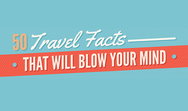 50 Travel Facts That Will Blow Your Mind