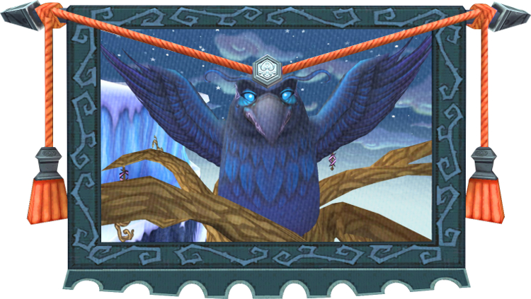 Wizard101 Tapestry - Hrundle Fjord