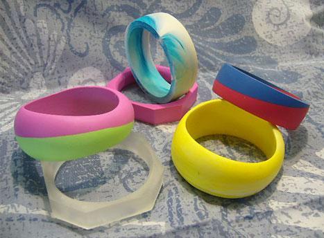 Moldes para hacer anillos y pulseras paso a paso for Como hacer pulseras de goma eva