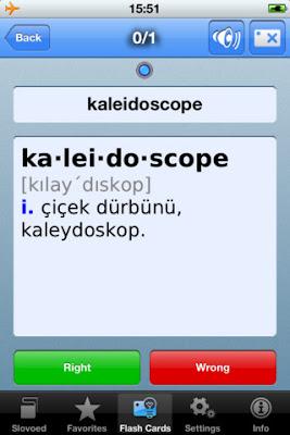 Từ điển Tiếng Anh - Thổ Nhĩ Kỳ cho iphone