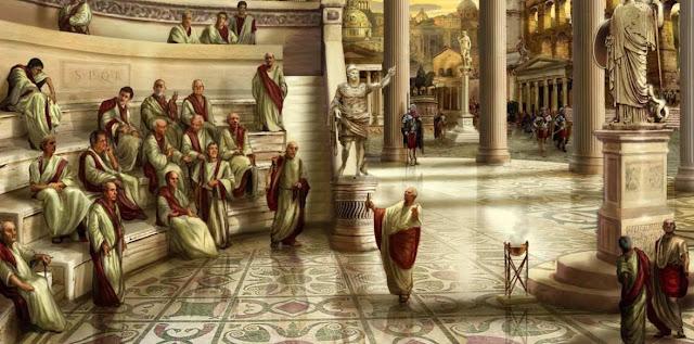 Politica e historia de Roma