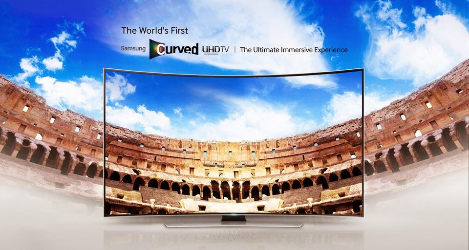 Samsung curve UHD TV