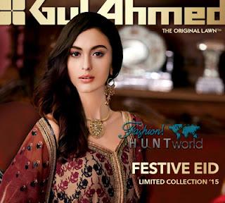 Gul Ahmed Festive Eid 2015 Catalog/Magazine