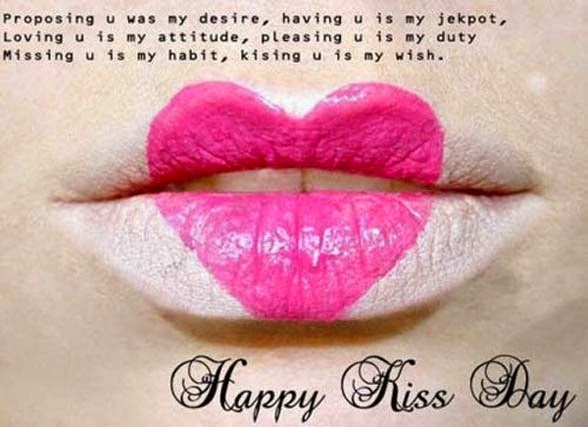Kiss Day Sms Quotes