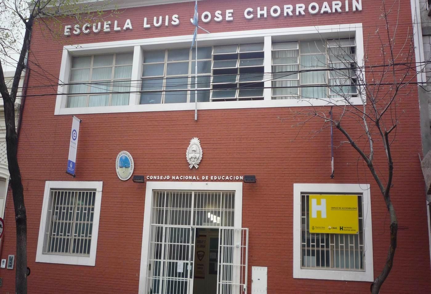 """Escuela N° 17 DE 6                                      """"Luis José Chorroarín"""""""