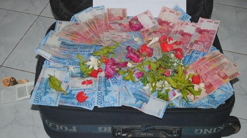 Hasil Ritual Uang Dana Gaib Nyai ronggeng