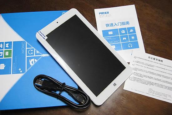7インチ 7型 Ployer MOMO7W 16GB intel 3735G(クアッドコア)